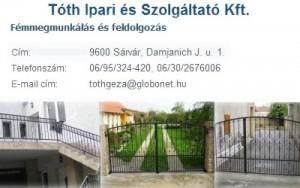 Tóth Ipari és Szolgáltató KFT.